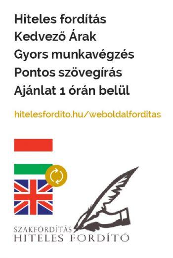 Weboldal fordítás